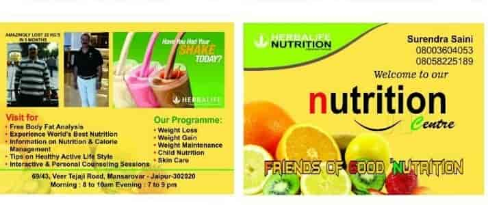 Weight Loss Weight Gain Herbalife Distributor Mansarovar Weight