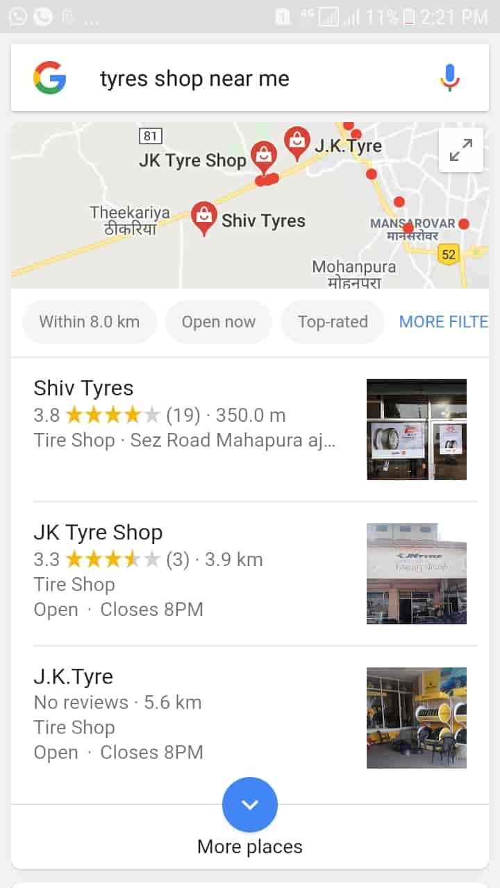 Shiv Tyres Mahapura Tyre Dealers In Jaipur Justdial