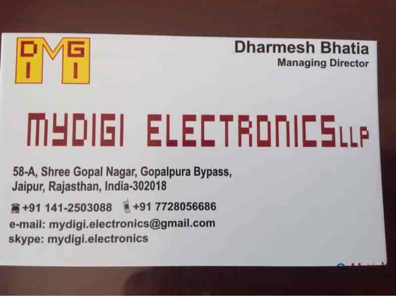 Mydigi Electronics LLP, Gopalpura Bypass - Electronic Goods