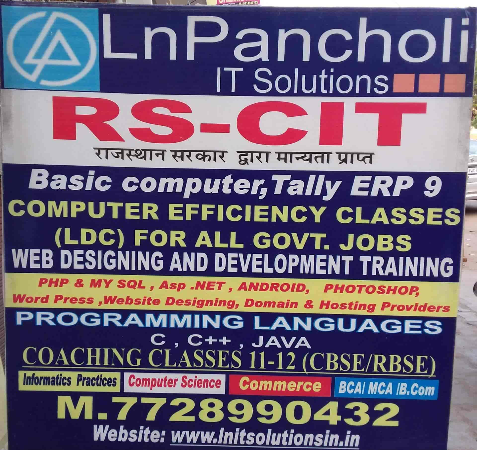 LN Pancholi IT Solutions Photos, Gopalpura Bypass, Jaipur- Pictures