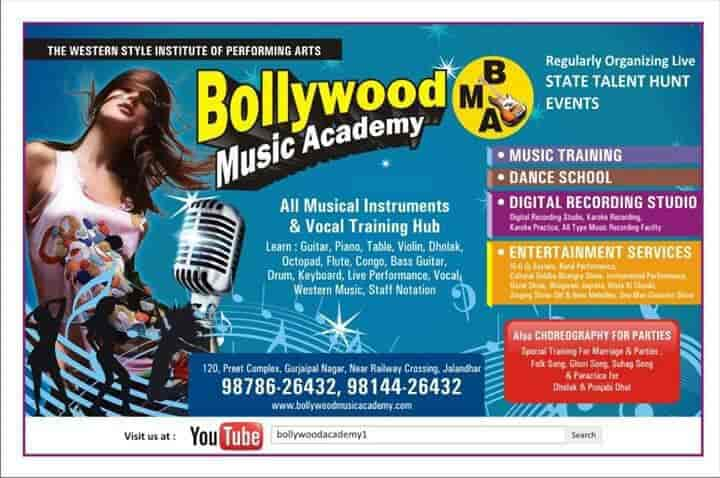 Bollywood Music Academy, Jalandhar - Music Classes in