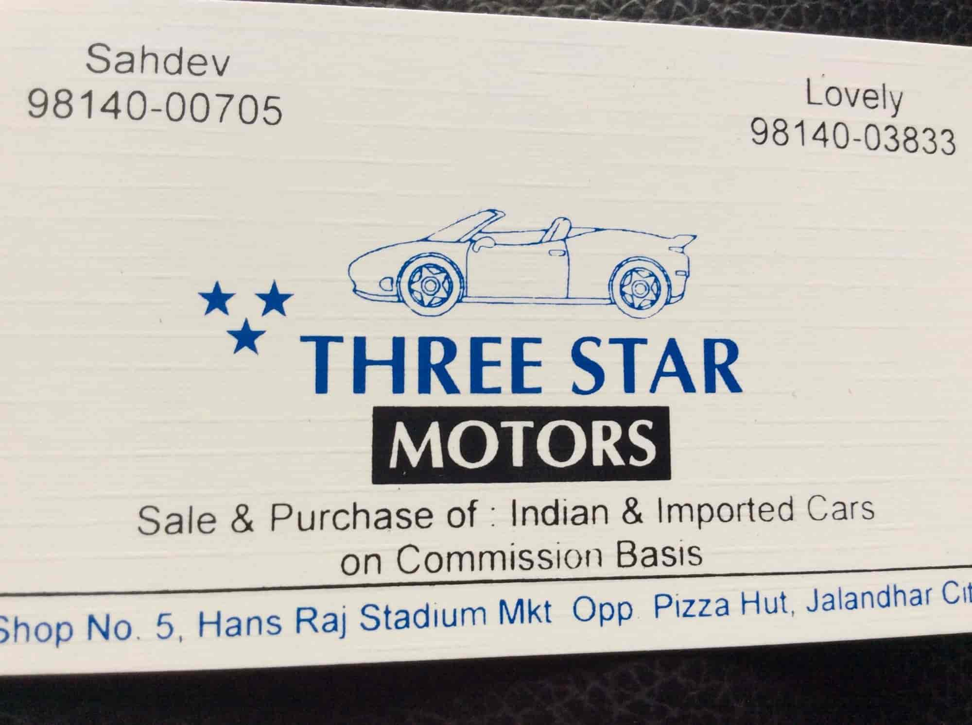 Three Star Motors, Jalandhar City - Second Hand Car Dealers in ...