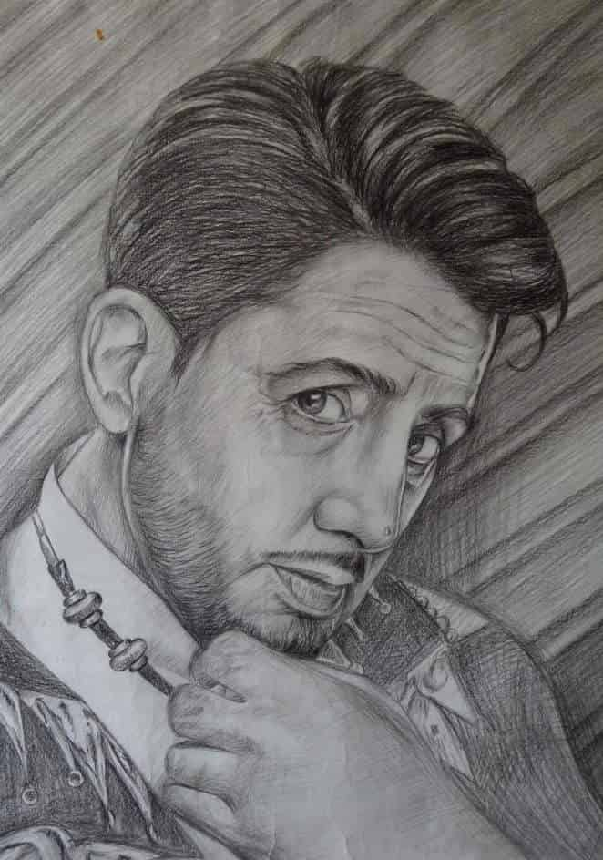 Pencil sketch sodhi arts photos jalandhar city jalandhar flex printing services