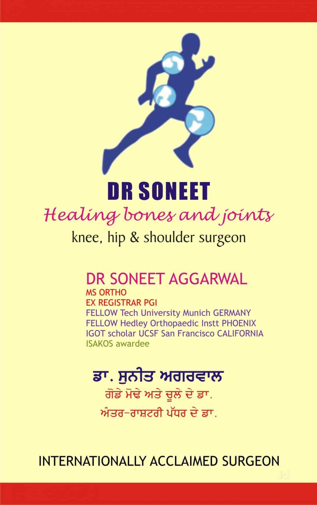 Dr Soneet - Orthopaedic Doctors - Book Appointment Online