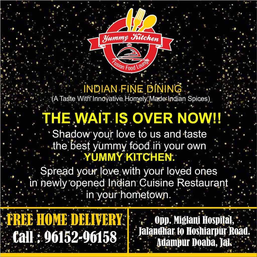 Yummy Kitchen, Adampur Jalandhar, Jalandhar - Restaurants - Justdial