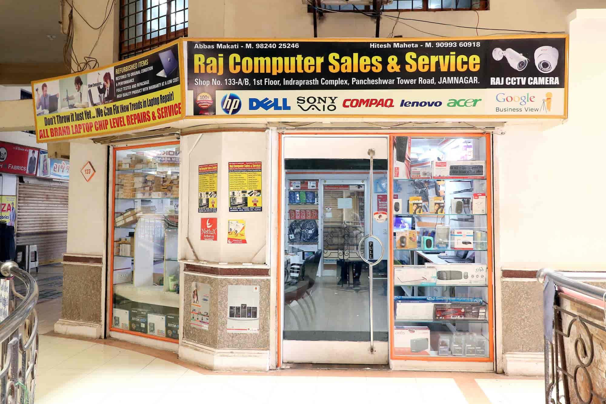 Raj Computer Sales Service Pancheshwar Tower Chowk Laptop Repair Hp Makati Services In Jamnagar Justdial