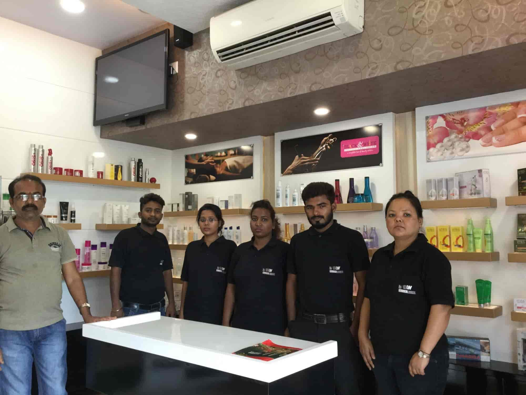 The black white professional salon sonari beauty spas in jamshedpur justdial