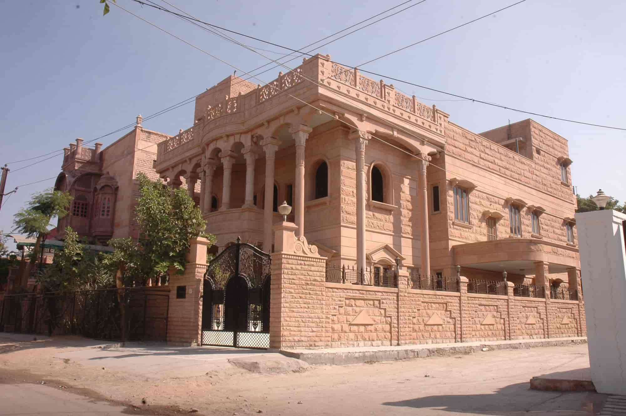 Jodhpur Stone Home Design