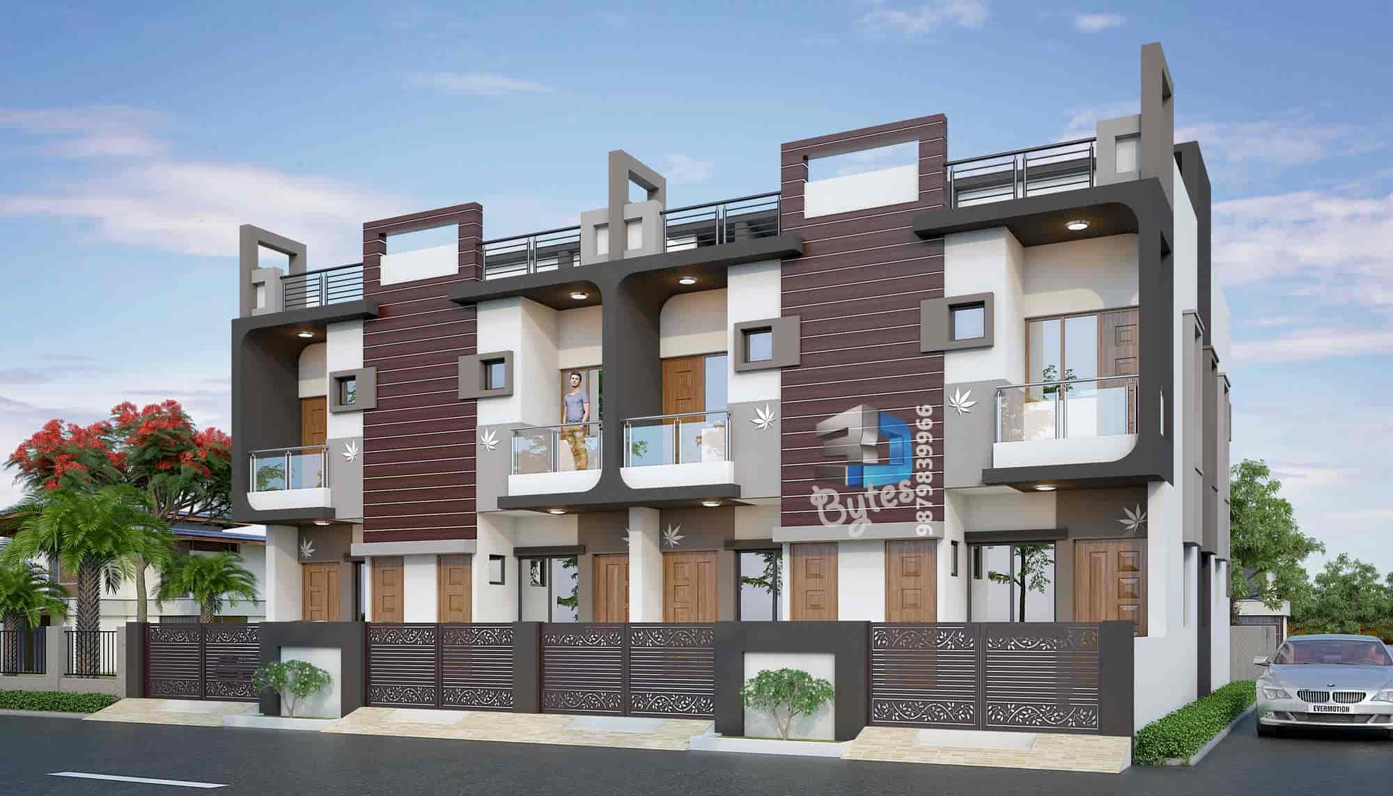 3D Bytes, Azad Chowk - Elevation Architectural Designers in Junagadh