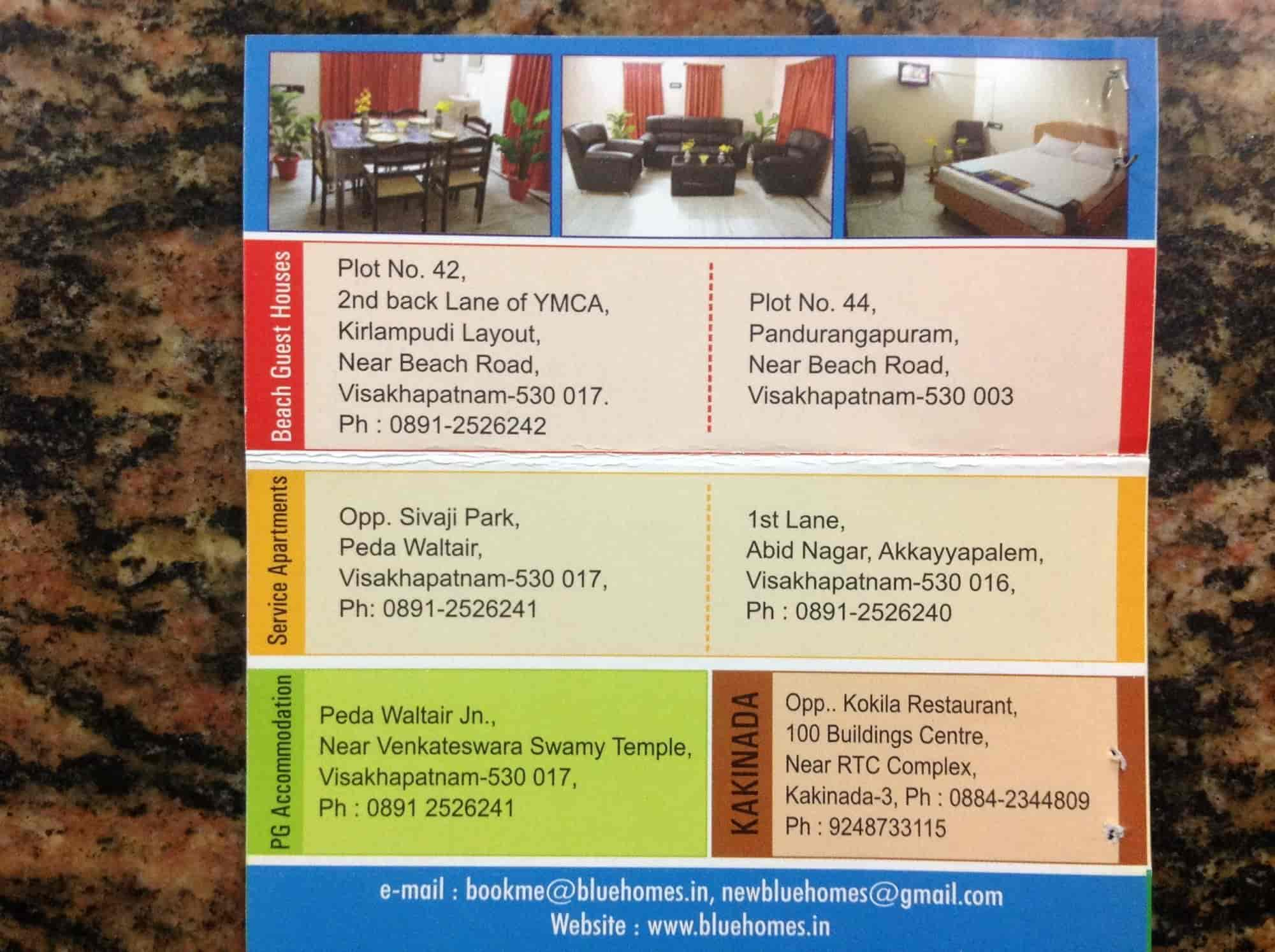 The New Blue Homes, RTC Complex Road - Hotels in Kakinada - Justdial