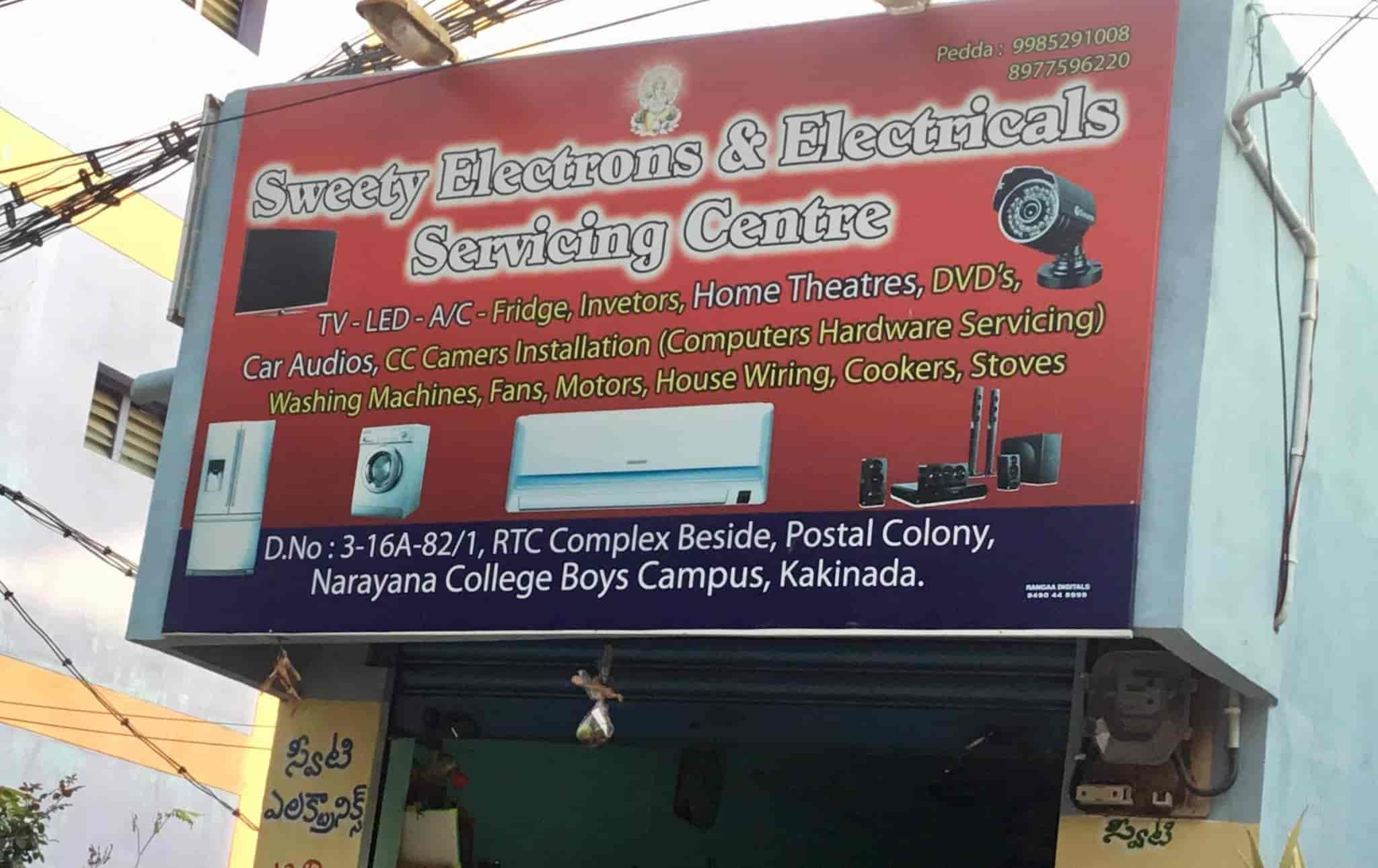Sweety Electrical Electronics Postal Colony Sweetie Led Billboard Wiring Ac Repair Services In Kakinada Justdial
