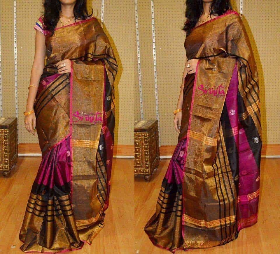 f50a48de36099 ... Uppada Pattu Saree Photos