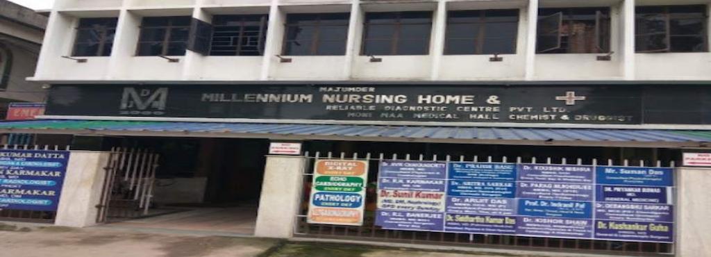 majumder millennium nursing home reliable diagnostic centre pvt