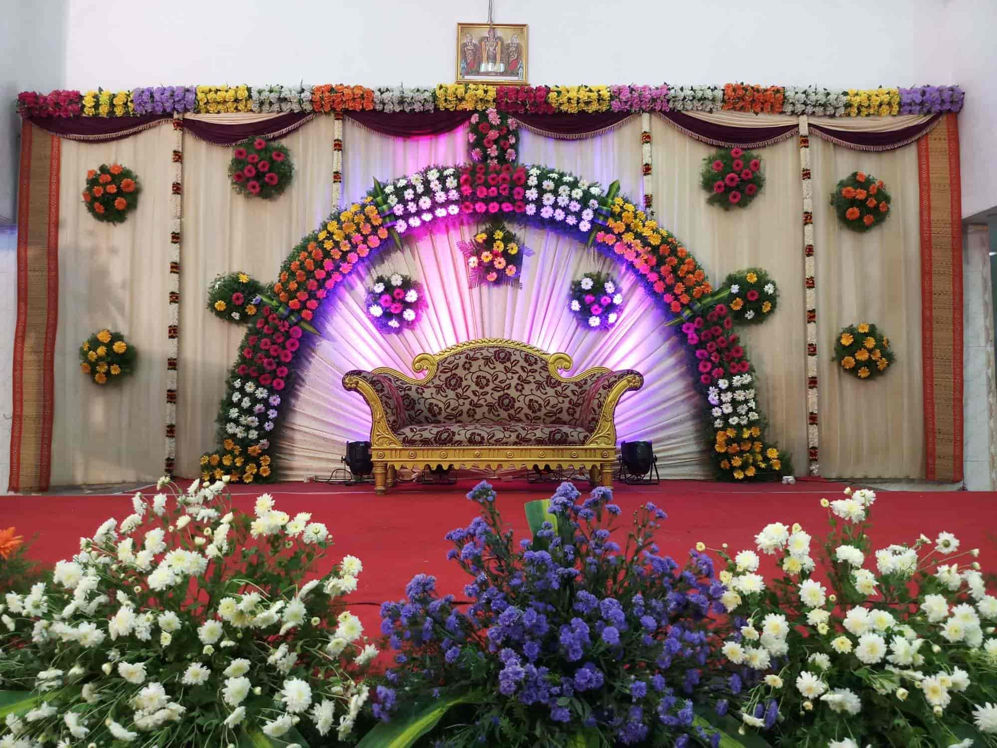 Flowers Decoration For Wedding