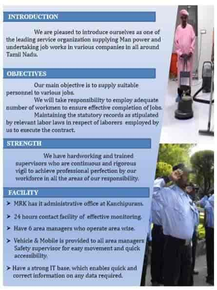 Mrk Manpower Supply Company Photos, Kanchipuram, Kanchipuram