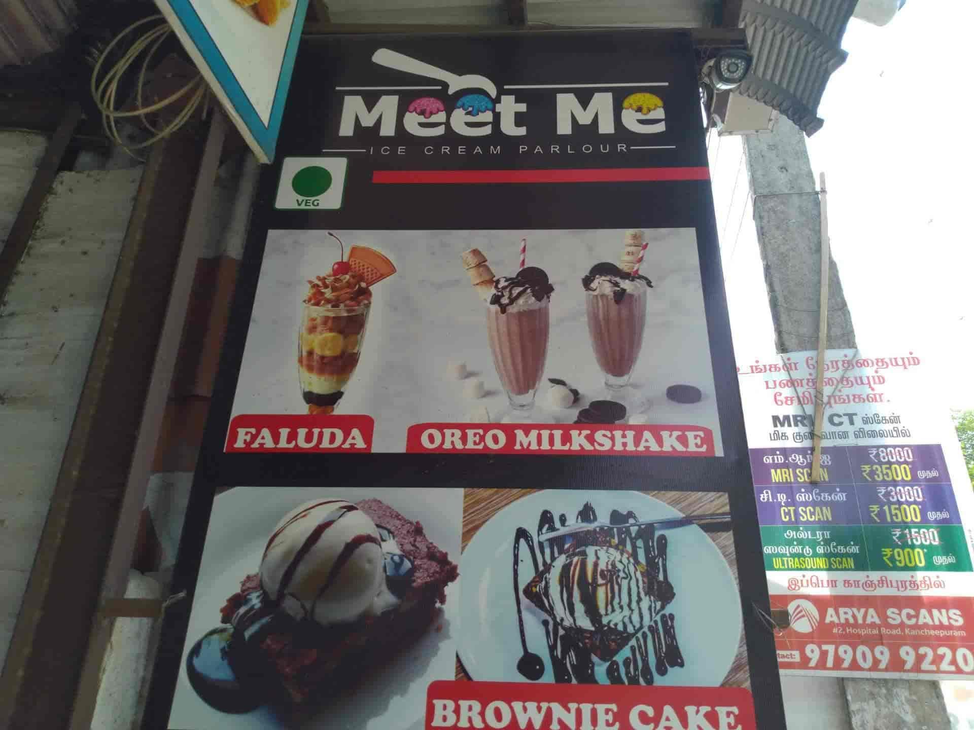 Meet Me Ice Cream Parlour, Kanchipuram HO, Kanchipuram