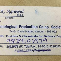 Technological Production Cooperative Society Ltd, Dada Nagar - Tape