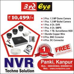 NVR Techno Solution, Panki Power House - CCTV Dealers in Kanpur