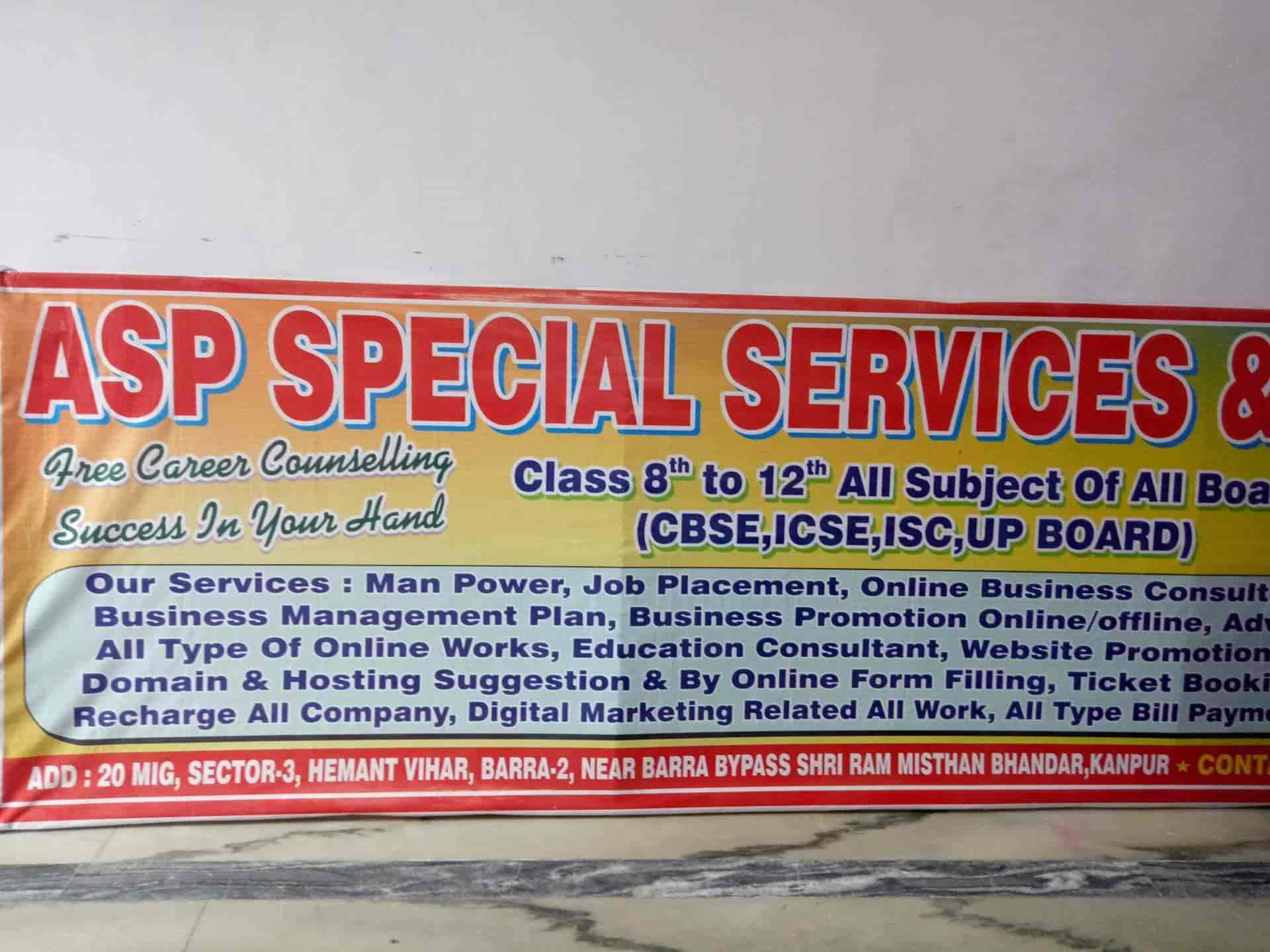 ASP Special Classes, Barra - Placement Services (Candidate) in