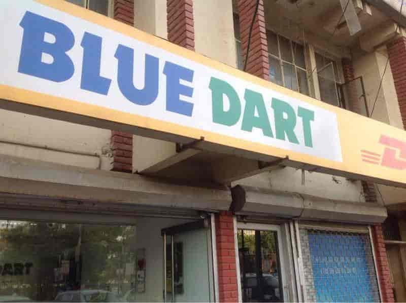 Blue Dart Express Ltd, Mall Road - Courier Services-Blue