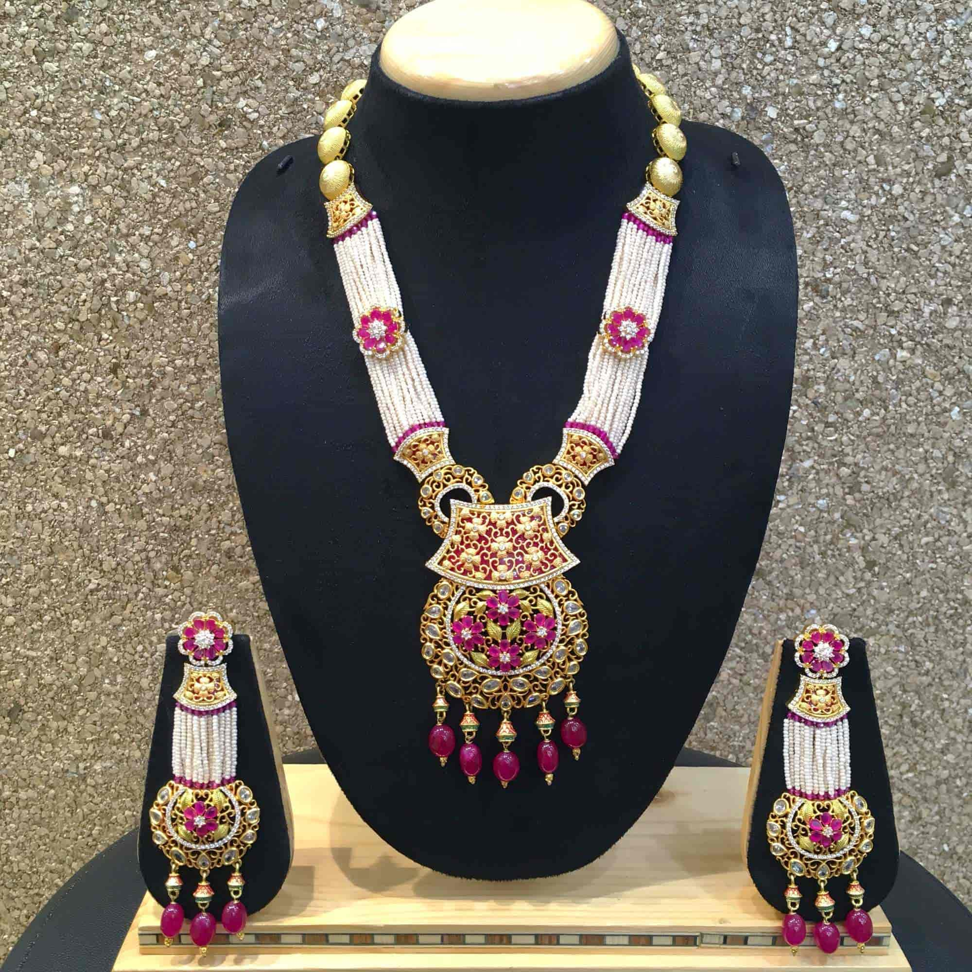 earings nagar kanpur bzdet fashion necklace necklaces dazzles and showrooms photos costume jewellery tilak