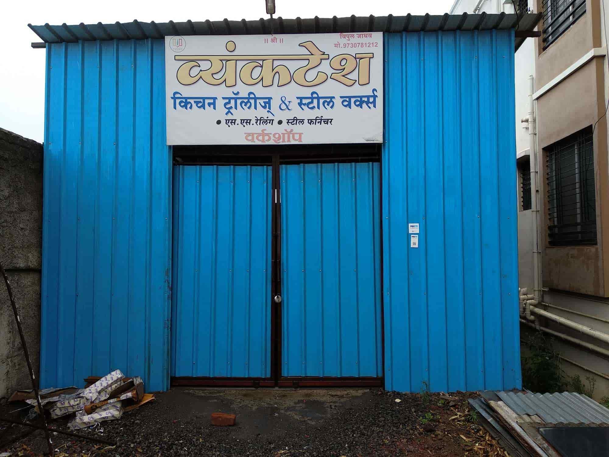 Venkatesh Steel Works & Kitchen Trolley - Modular Kitchen Dealers in ...