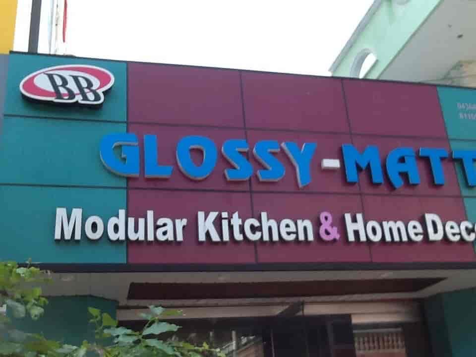 Glossy Matt Modular Kitchen Photos Karaikal Pictures Images