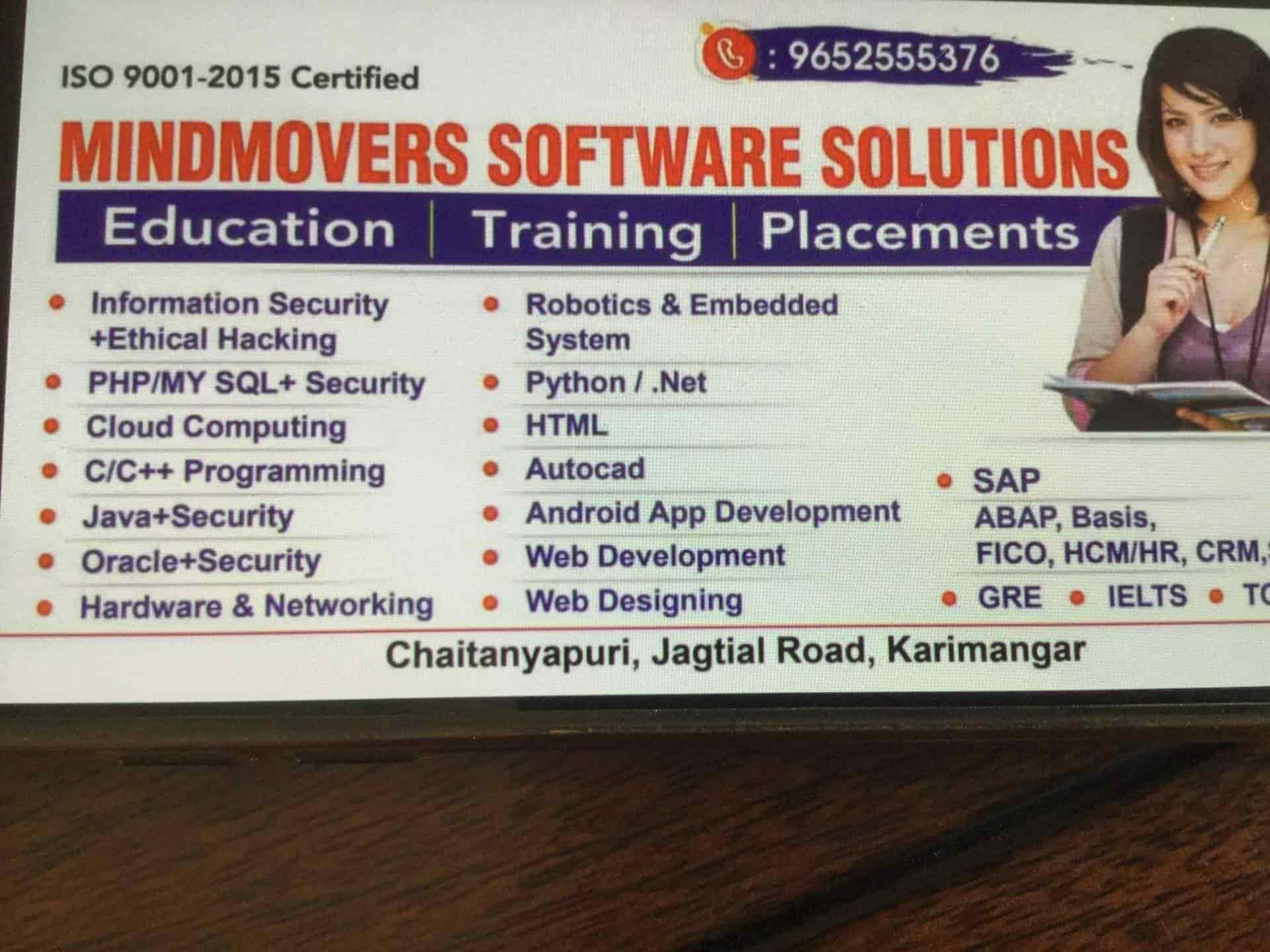 Mind Mowers Karimnagar City Computer Training Institutes In Karimnagar Justdial