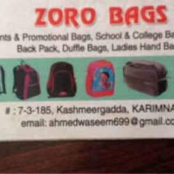 Zero Bags, Mankammathota - Bag Manufacturers in Karimnagar