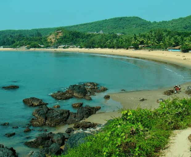 Half Moon Beach Photos Gokarna Karwar Tourist Attraction