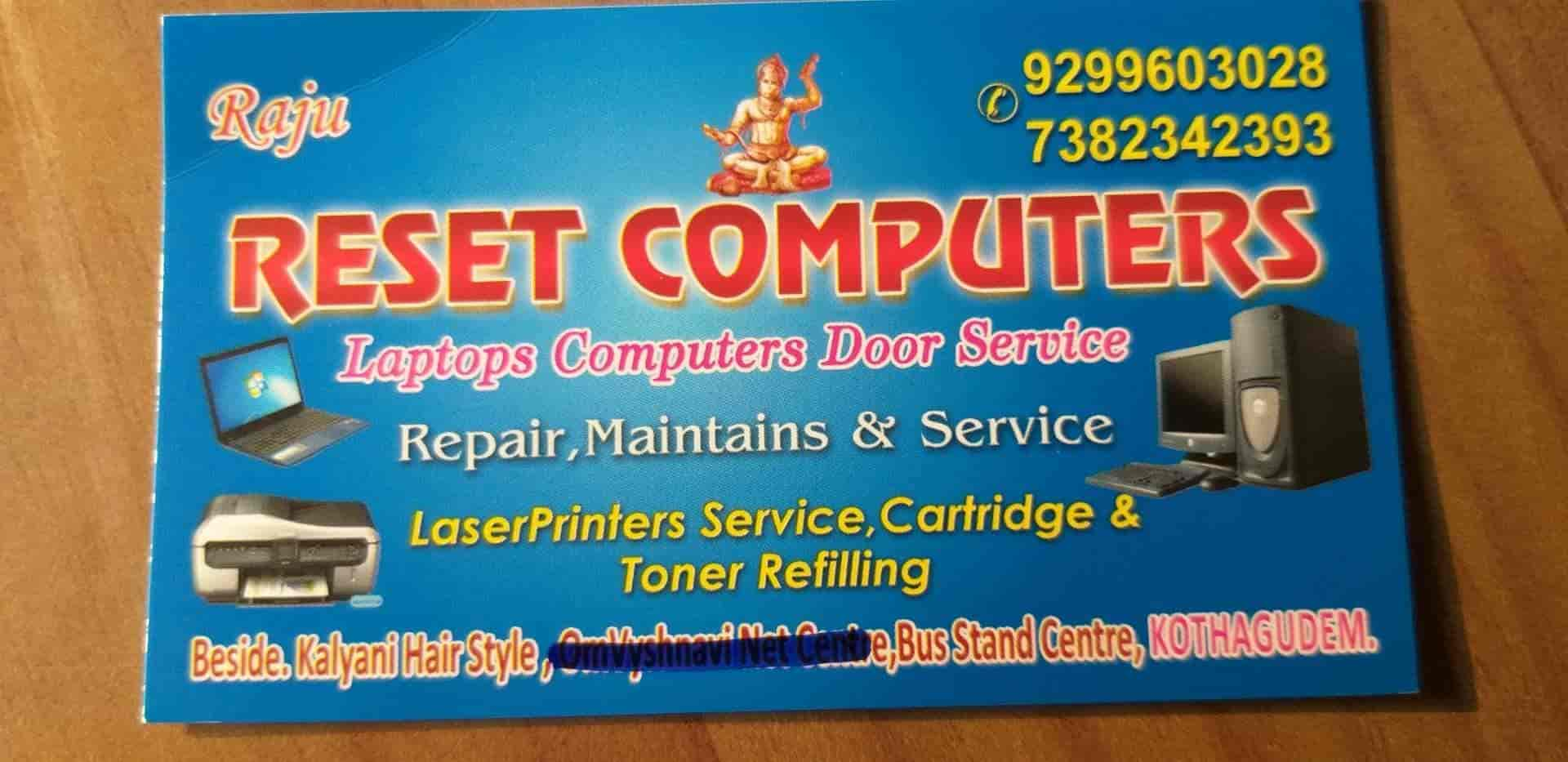Reset Computers, Kothagudem - Computer Repair & Services in