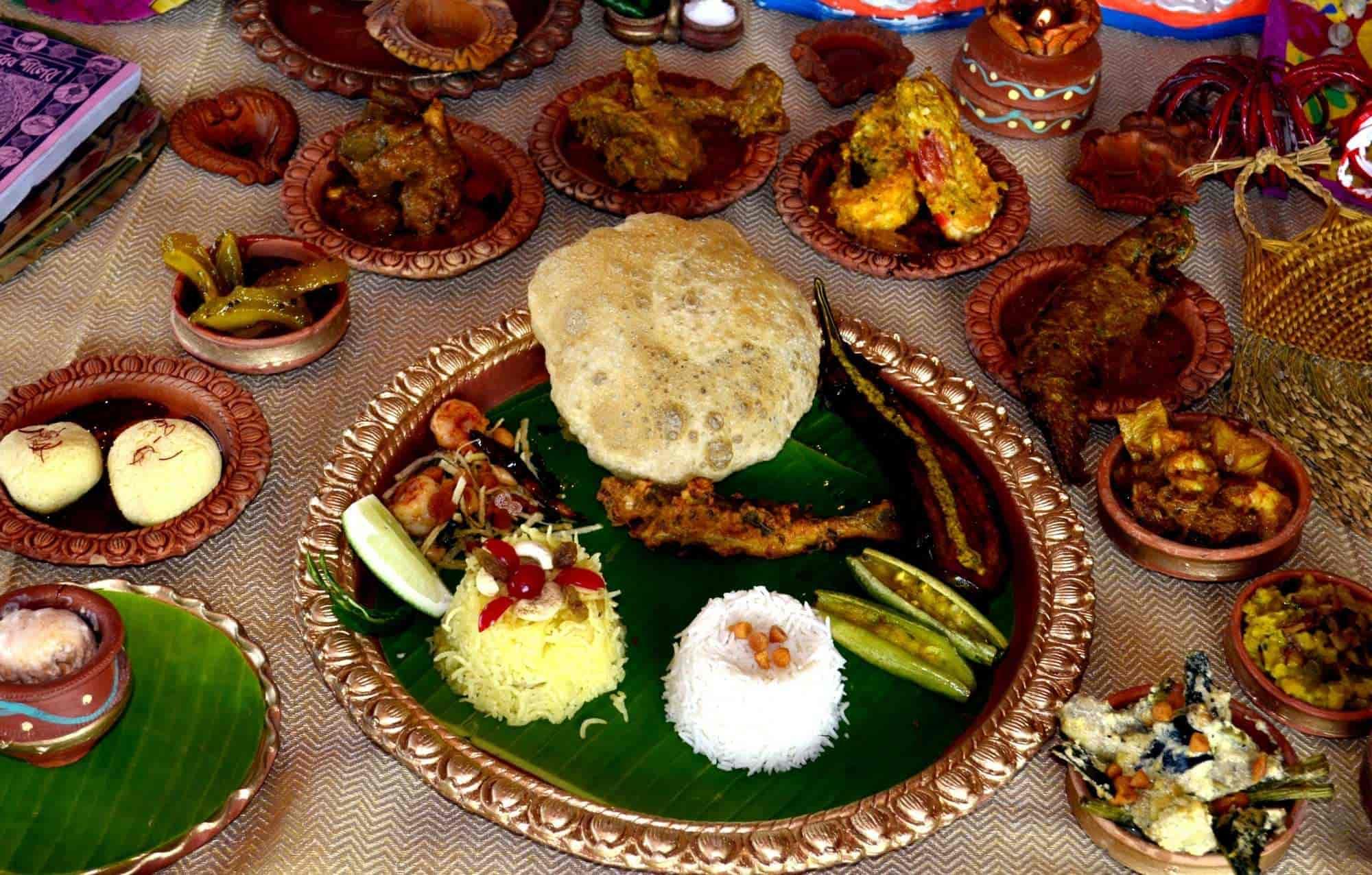 Nababarsher Maha Bhoj Charnocks Restaurant Bar Photos Salt Lake City Sector 4