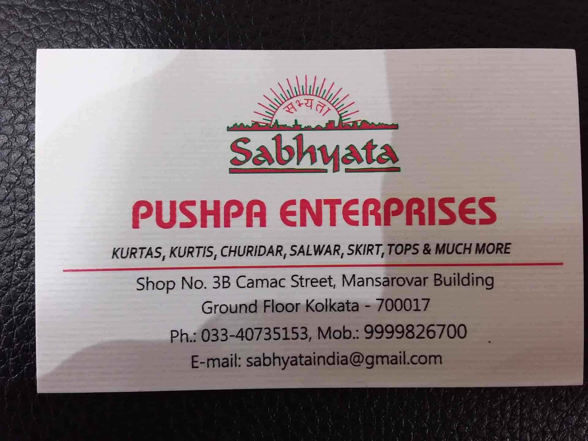 Sabhyata Camac Street Readymade Garment Retailers In Kolkata Justdial