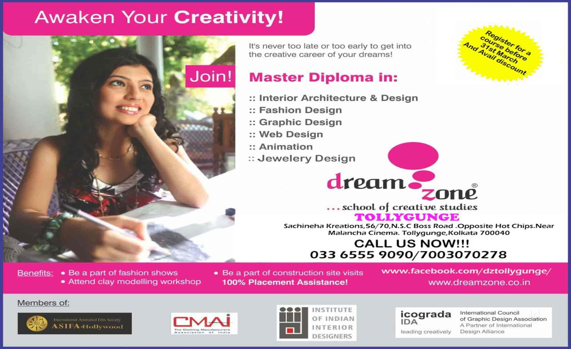 Dreamzone Tollygunge Centre Regent Park Computer Training Institutes In Kolkata Justdial