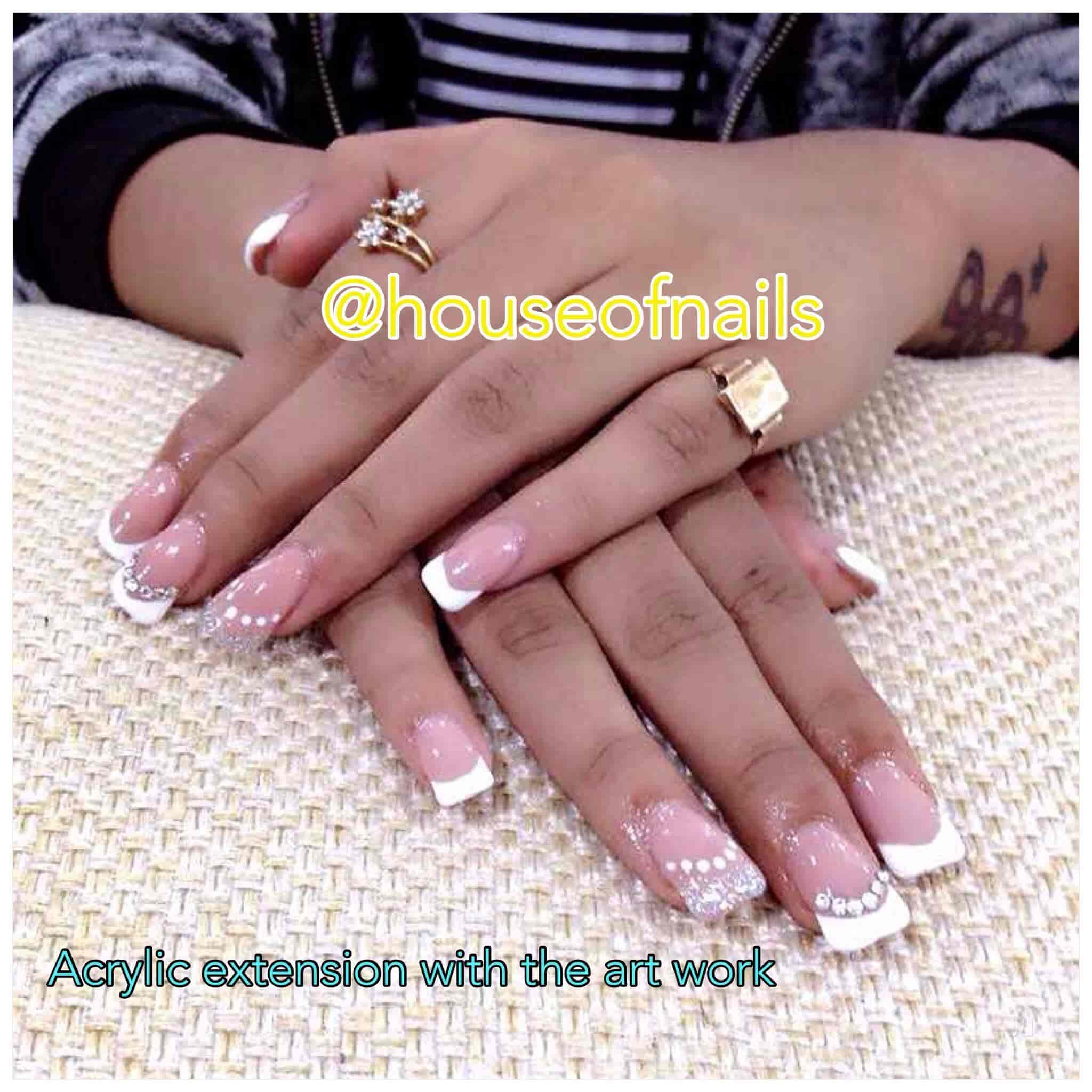 House Of Nails Ballygunge Beauty Parlours For Nail Extension In
