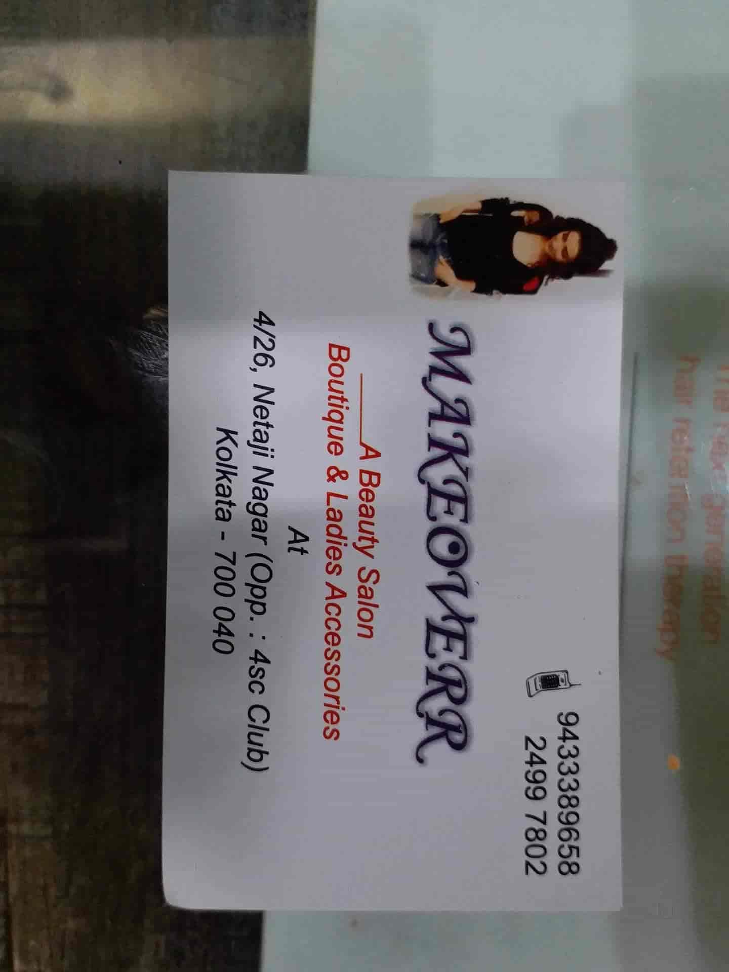 Makeoverr, Regent Park - Beauty Spas in Kolkata - Justdial