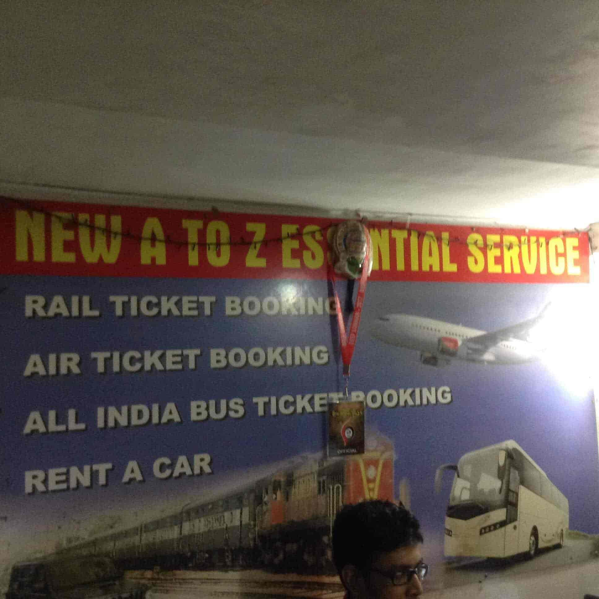New A To Z Essential Service, Santoshpur - Travel Agents in