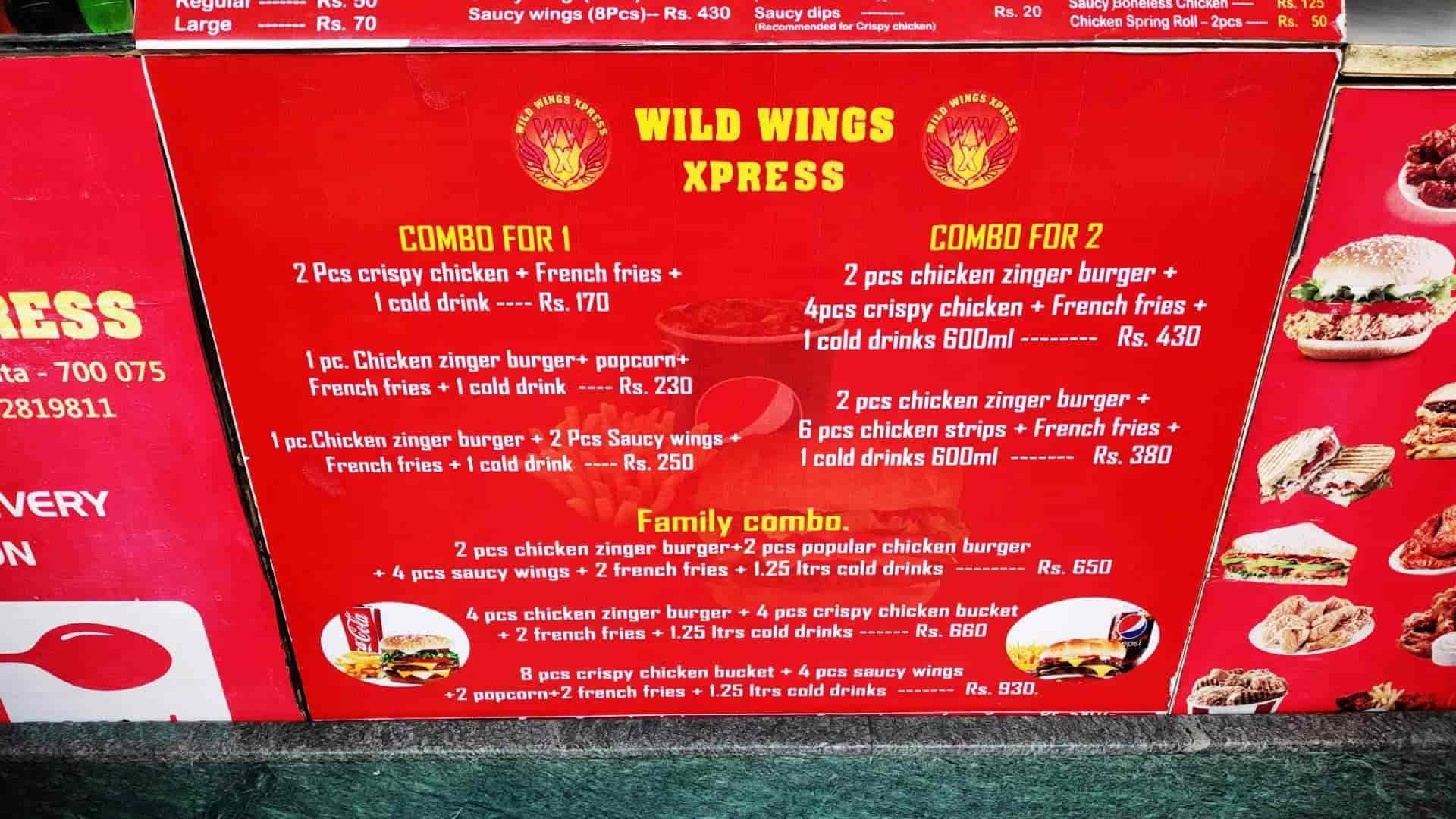 Wild Wings Xpress, Santoshpur, Kolkata - Restaurants - Justdial