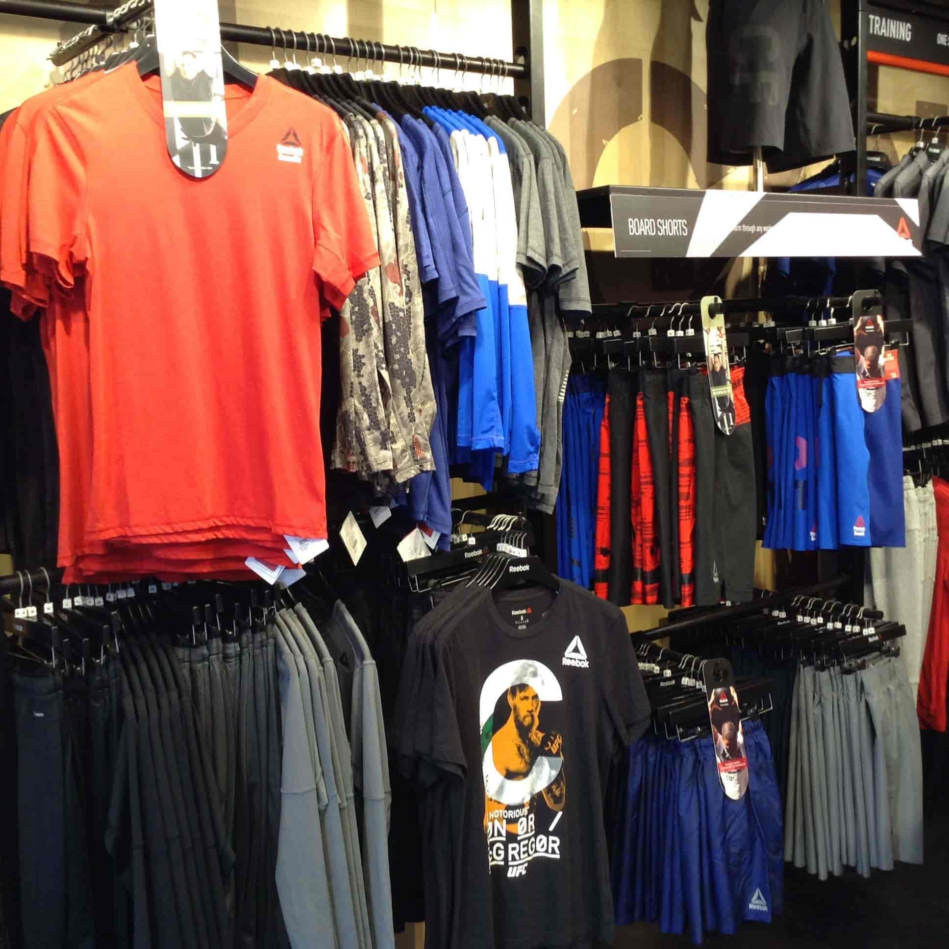 reebok store in city centre kolkata
