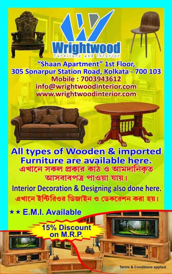 Wrightwood Furniture And Interior Bonhooghly Interior Designers