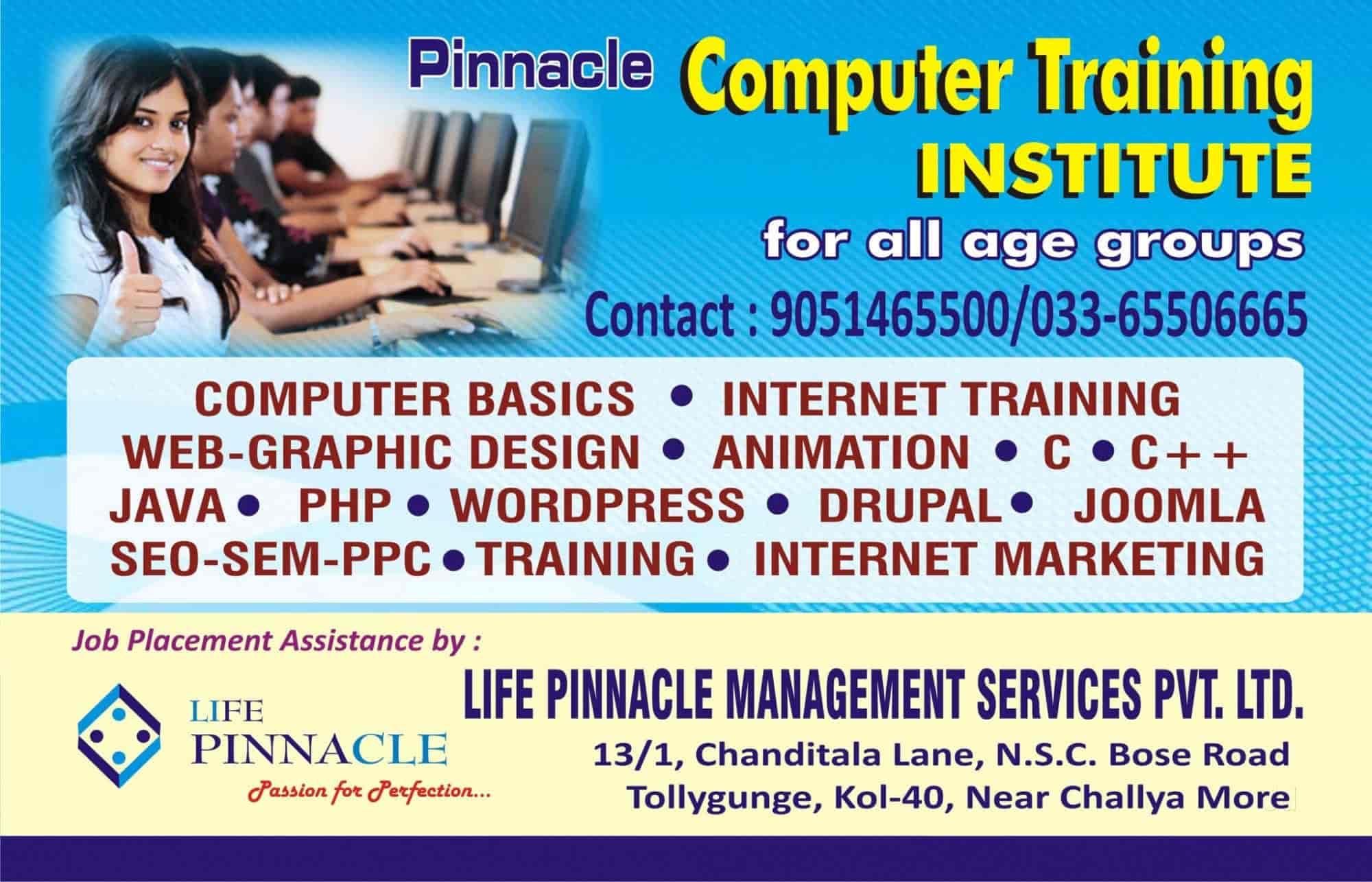 Pinnacle Computer Training Institute Photos Regent Park Kolkata Pictures Images Gallery