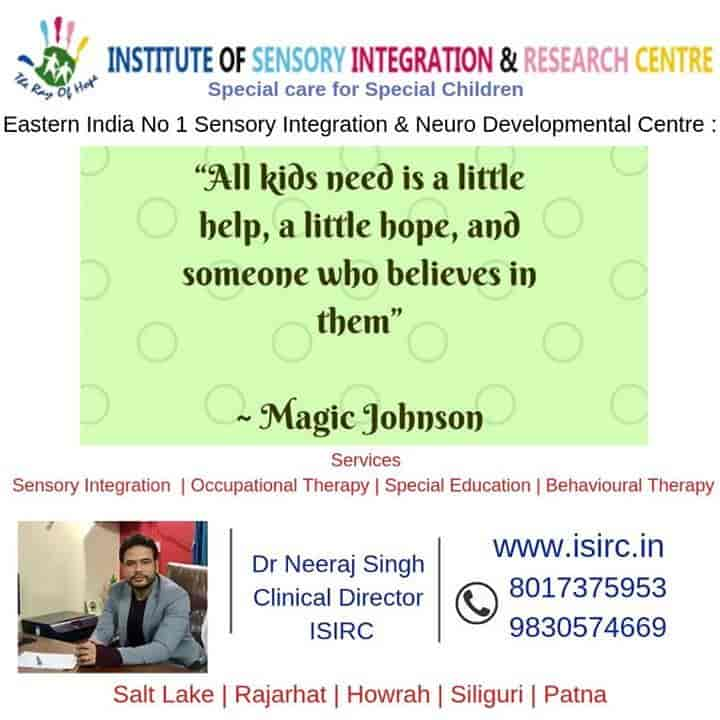 Institute Of Sensory Integration And Research Centre