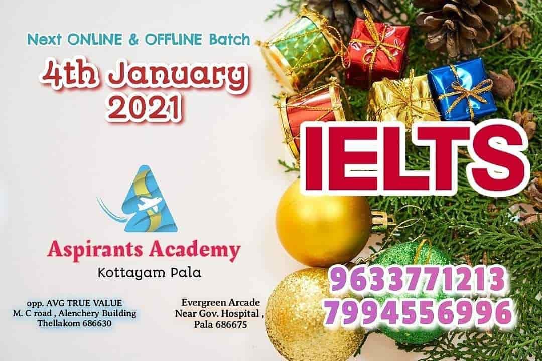 Academy Christmas Hours 2021 Aspirants Academy Pala Town Ielts Tutorials In Kottayam Justdial
