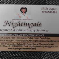 Nightingale Placement & Consultancy Service, Opposite M T Seminary
