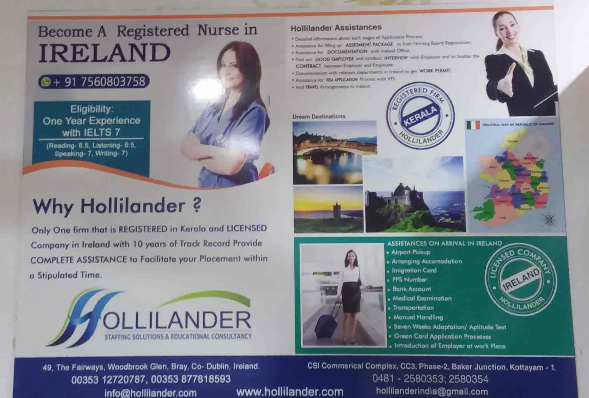 Hollilander nurses staffing solution & Study abroad