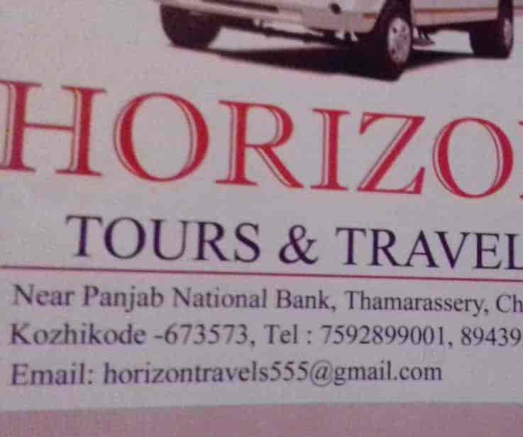 Horizon Tours & Travels, Thamarassery - Call Taxi Services