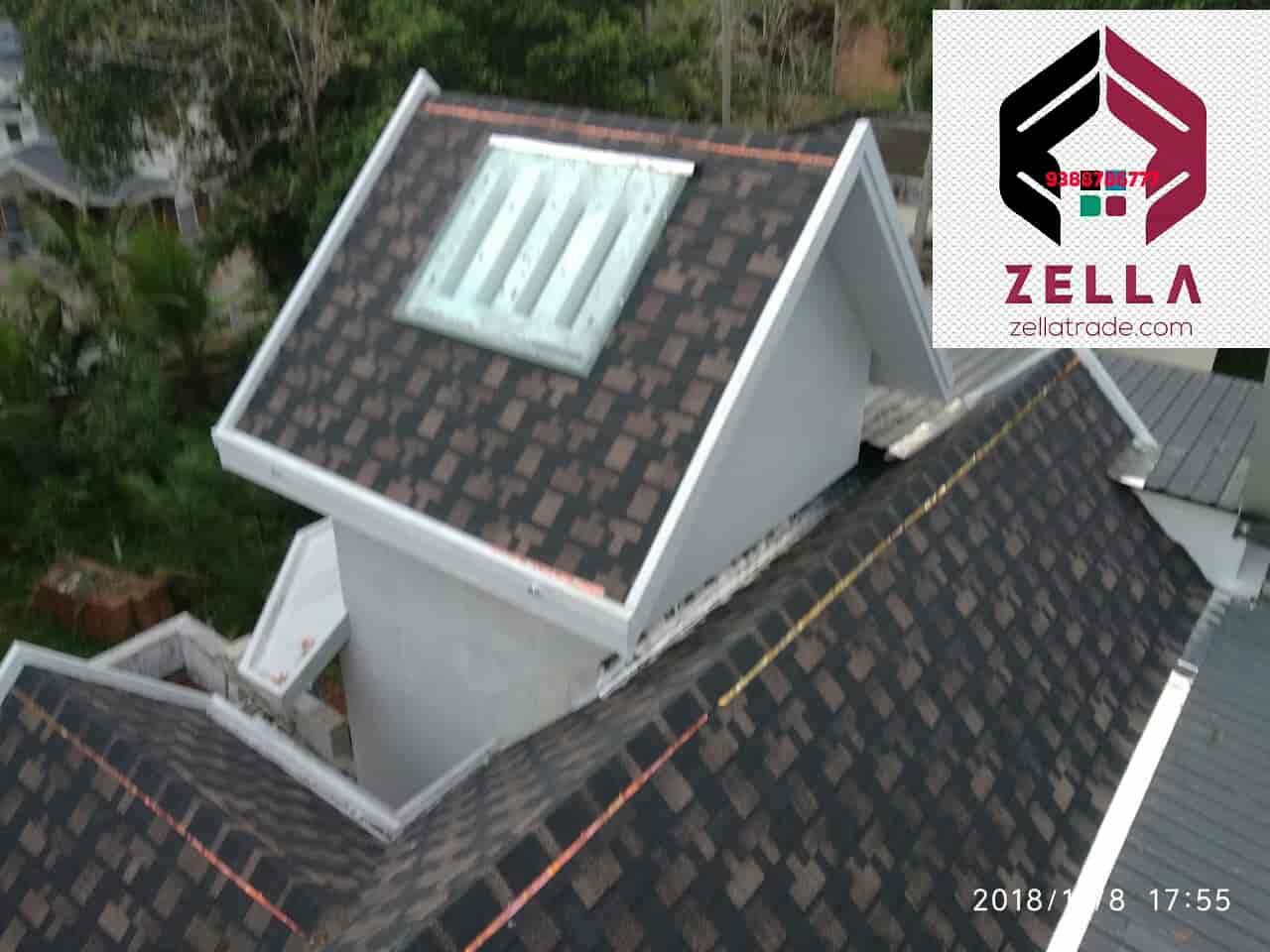 Zella roofing shingles, Thamarassery - Roofing Sheet Dealers