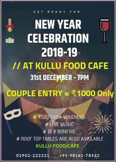 Kullu Food Cafe, Dhalpur, Kullu - Restaurants - Justdial