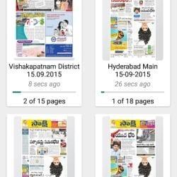 Sakshi Paper Distributors, Kurnool Ho - Newspaper