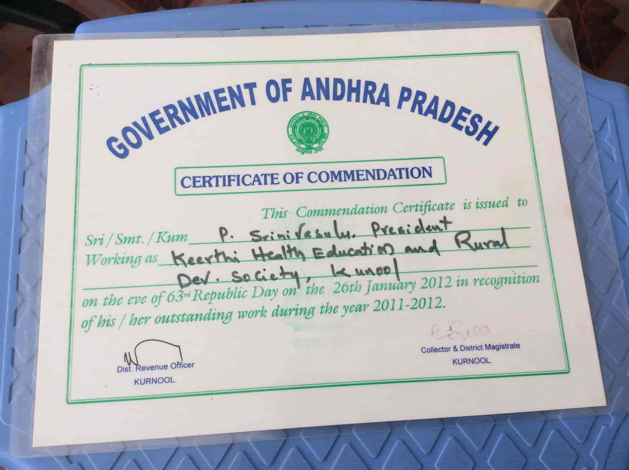 Keerthi Health Educational And Rural Developement Society Budavara